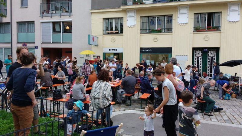 Nachbarschaftsfest im Nibelungenviertel 2016