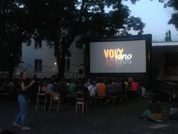 Volxkino am Burjanplatz