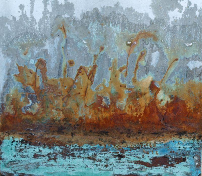 Abstraktes Bild von Monika Ritter