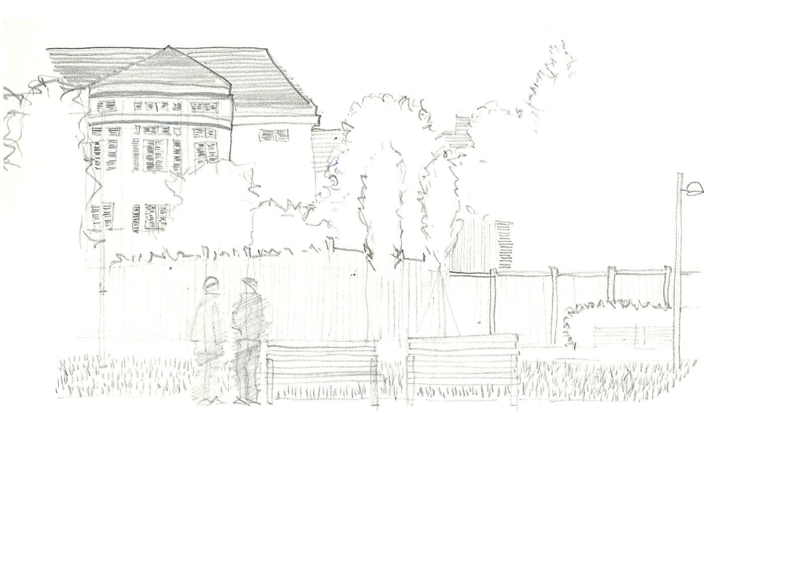 Freiraum - Zeichnung Axel Laimer