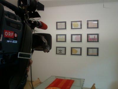ORF-Kamera bei der Finissage