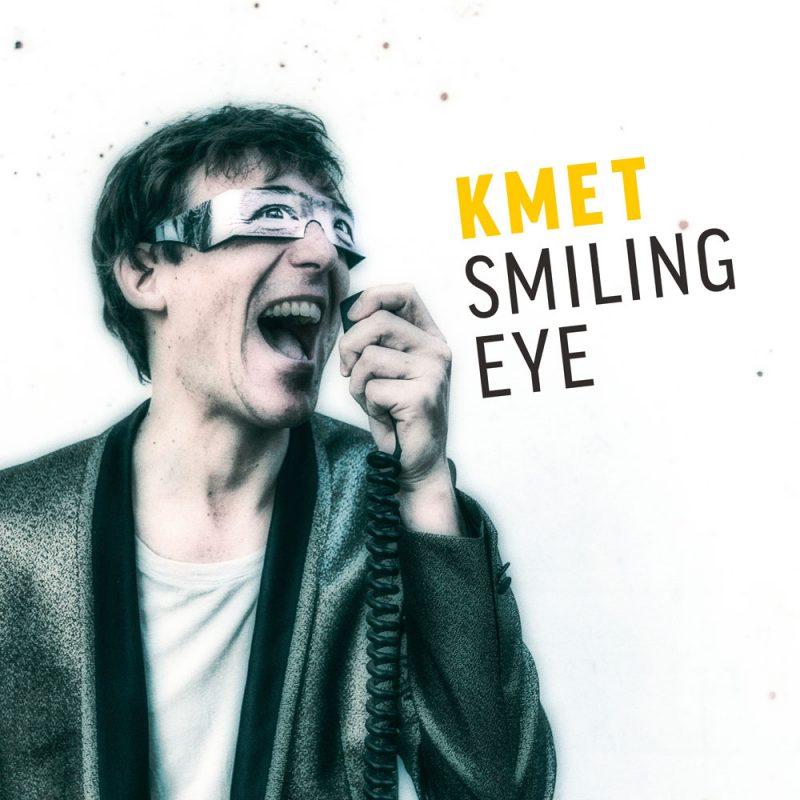 KMET - CD Cover - Smiling Eye