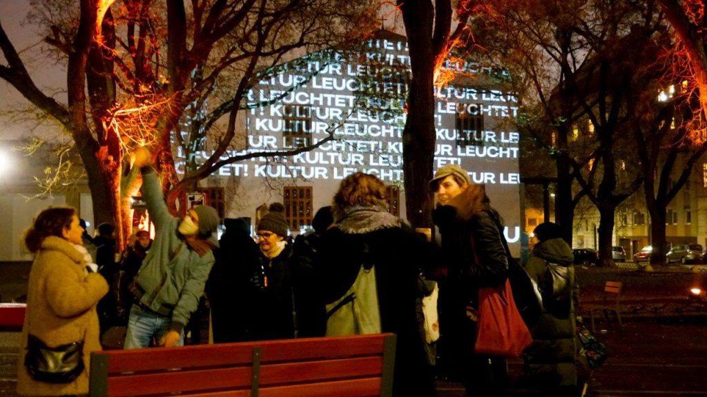 Kultur leuchtet - Foto Florian Launisch