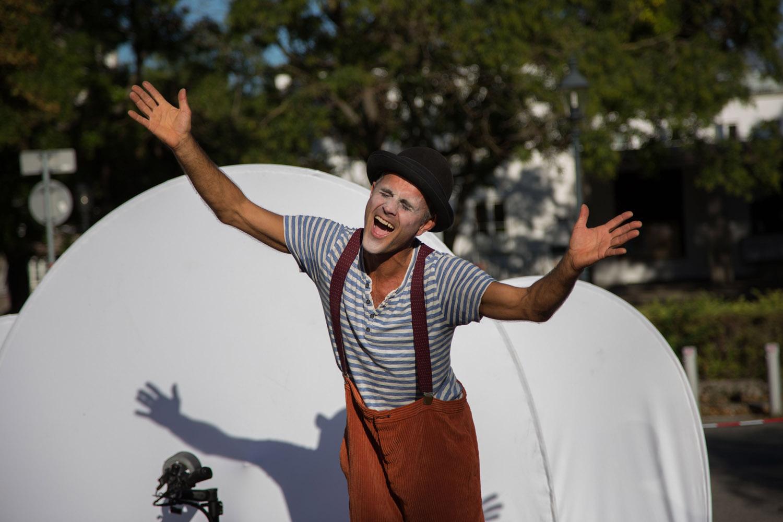 Clown Pompo - Foto: Wiener Fotoschule